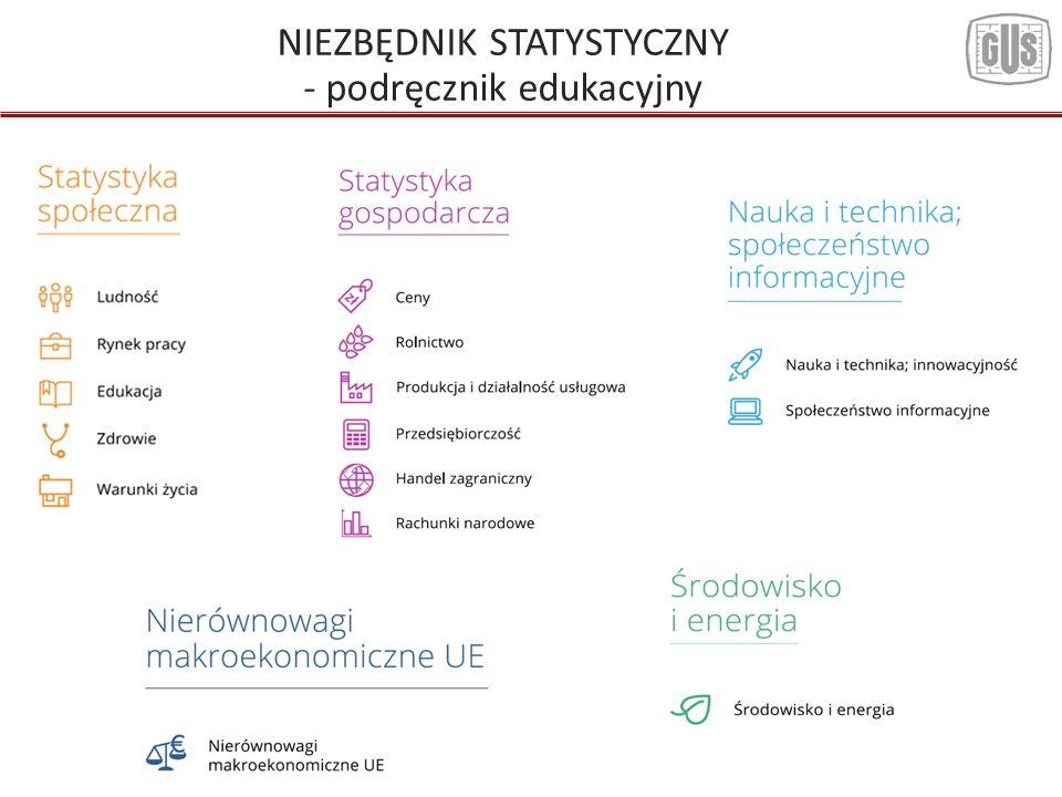 NIEZBĘDNIK STATYSTYCZNY - podręcznik edukacyjny
