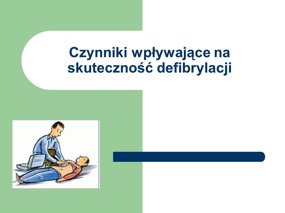 Czynniki wpływające na skuteczność defibrylacji