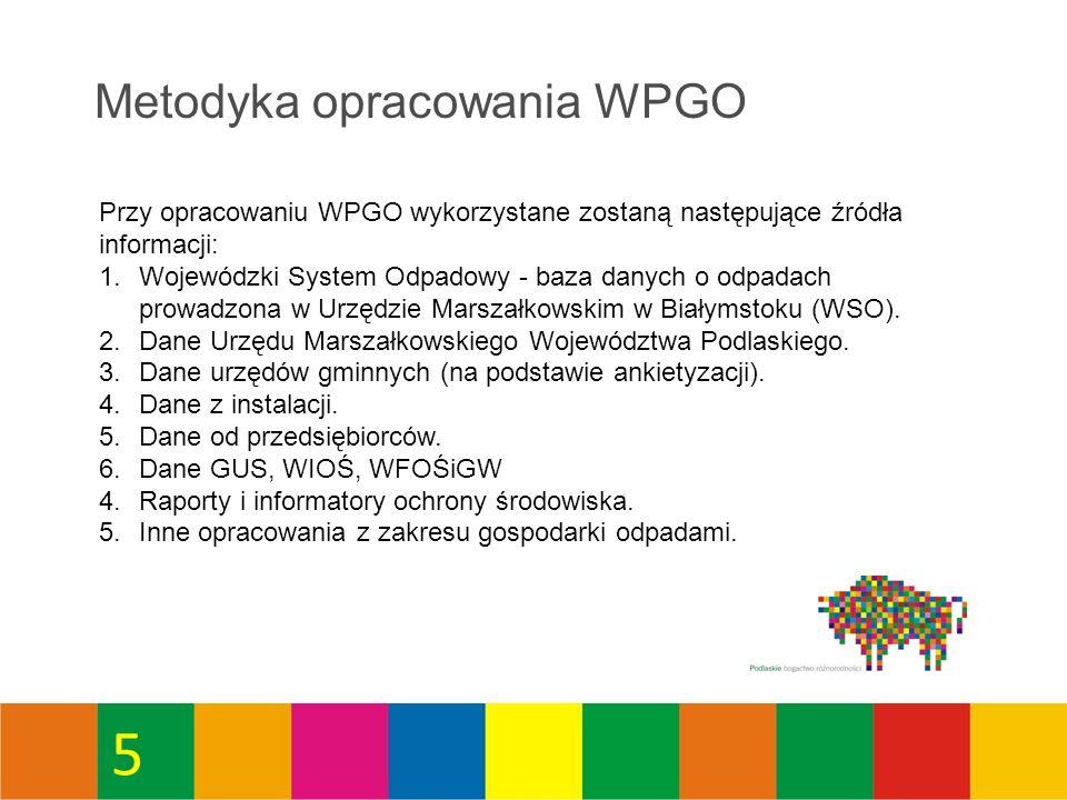 46 Masa odpadów komunalnych zebranych selektywnie w Regionie Zachodnim (Mg/M,rok)