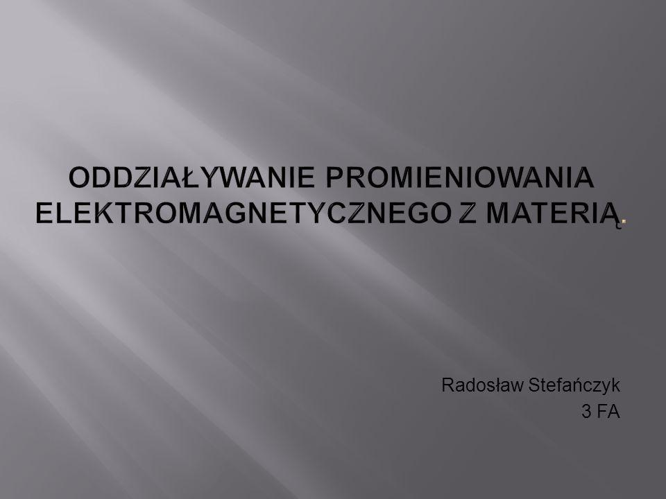 Radosław Stefańczyk 3 FA