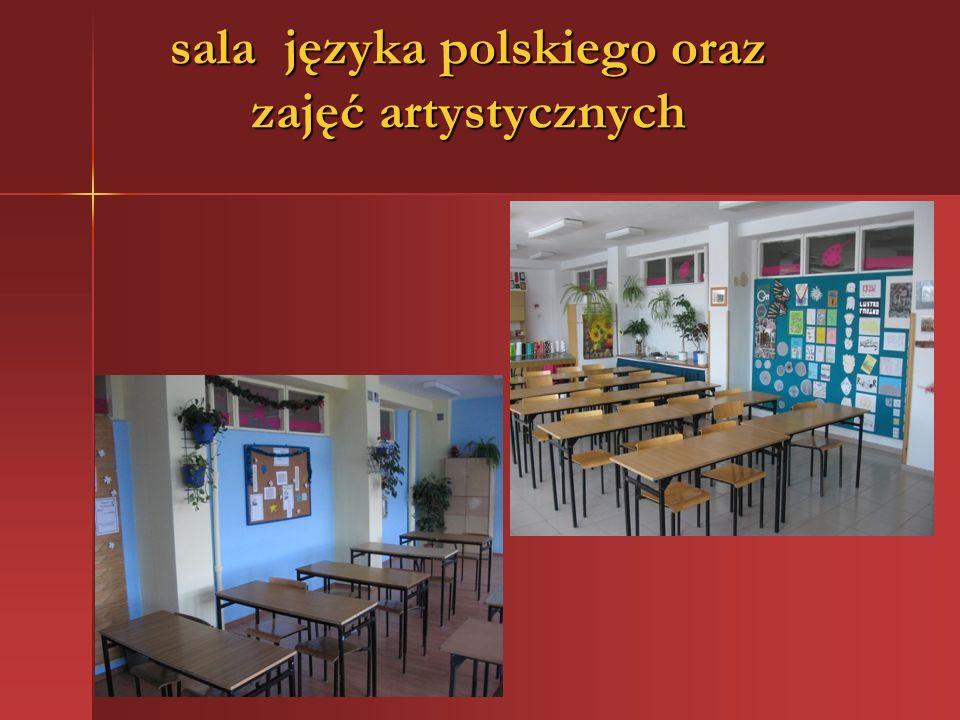 sala języka polskiego oraz zajęć artystycznych