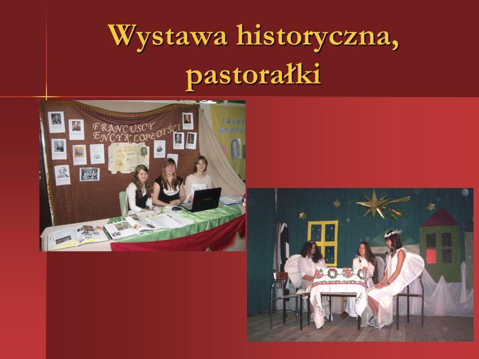 Wystawa historyczna, pastorałki