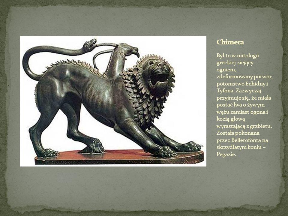Według mitologii grackiej kobiecy demon, który wabi dzieci i młodych mężczyzn, aby je pożreć.
