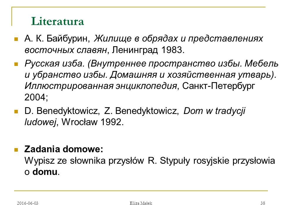 2016-06-03 Eliza Małek 38 Literatura А. К.