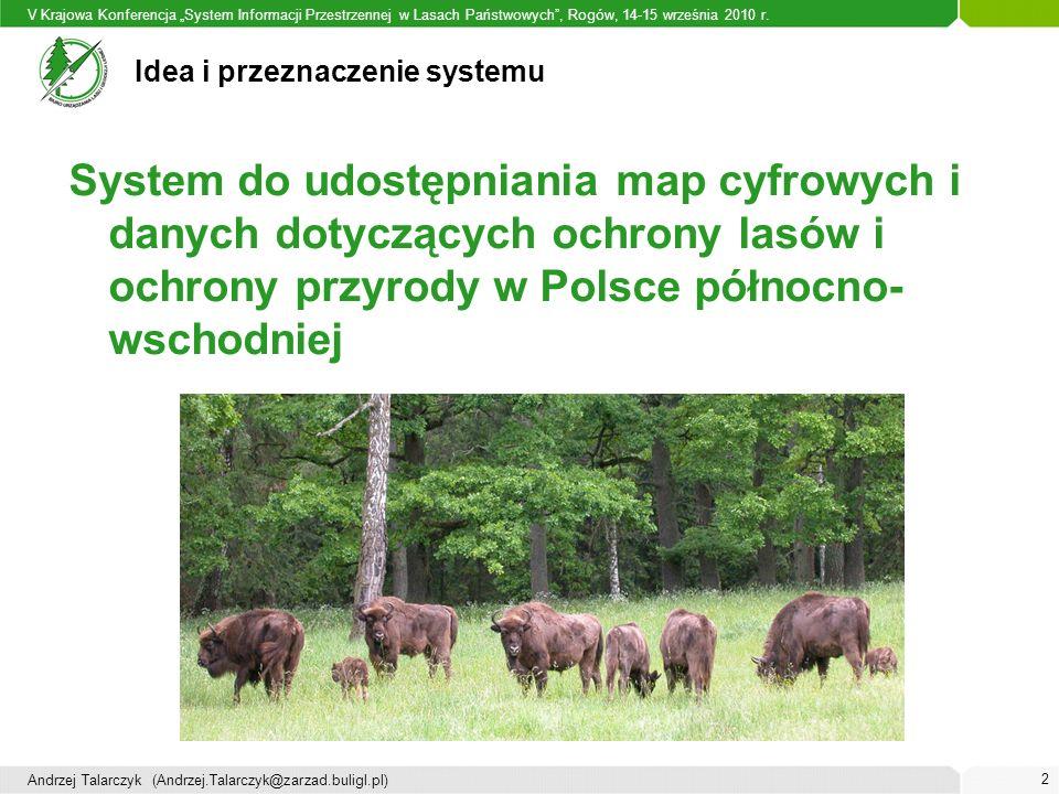 """V Krajowa Konferencja """"System Informacji Przestrzennej w Lasach Państwowych , Rogów, 14-15 września 2010 r."""