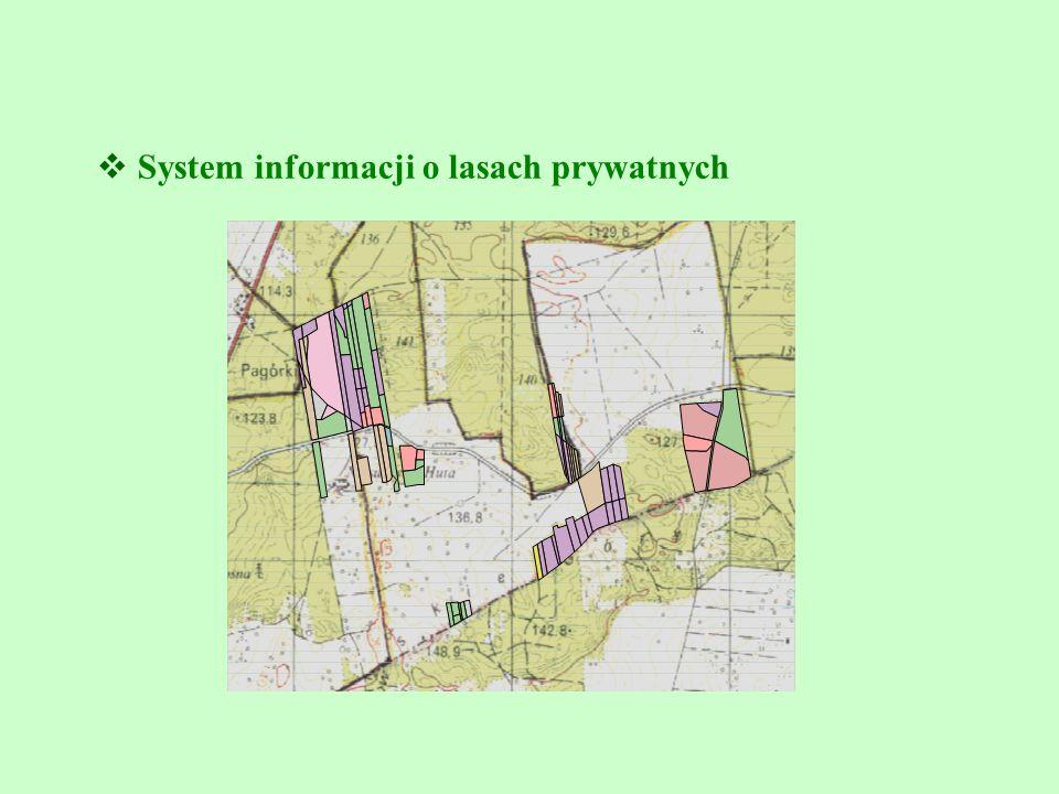  System informacji o lasach prywatnych