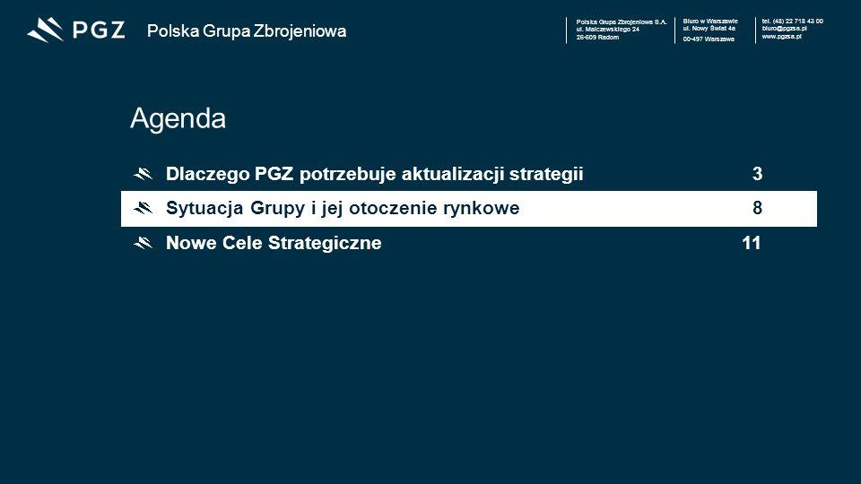Polska Grupa Zbrojeniowa S.A.ul. Malczewskiego 24 26-609 Radom Biuro w Warszawie ul.