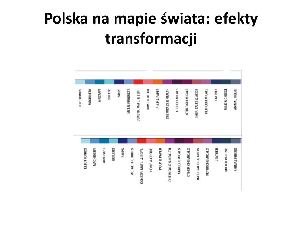 Polska na mapie świata: efekty transformacji