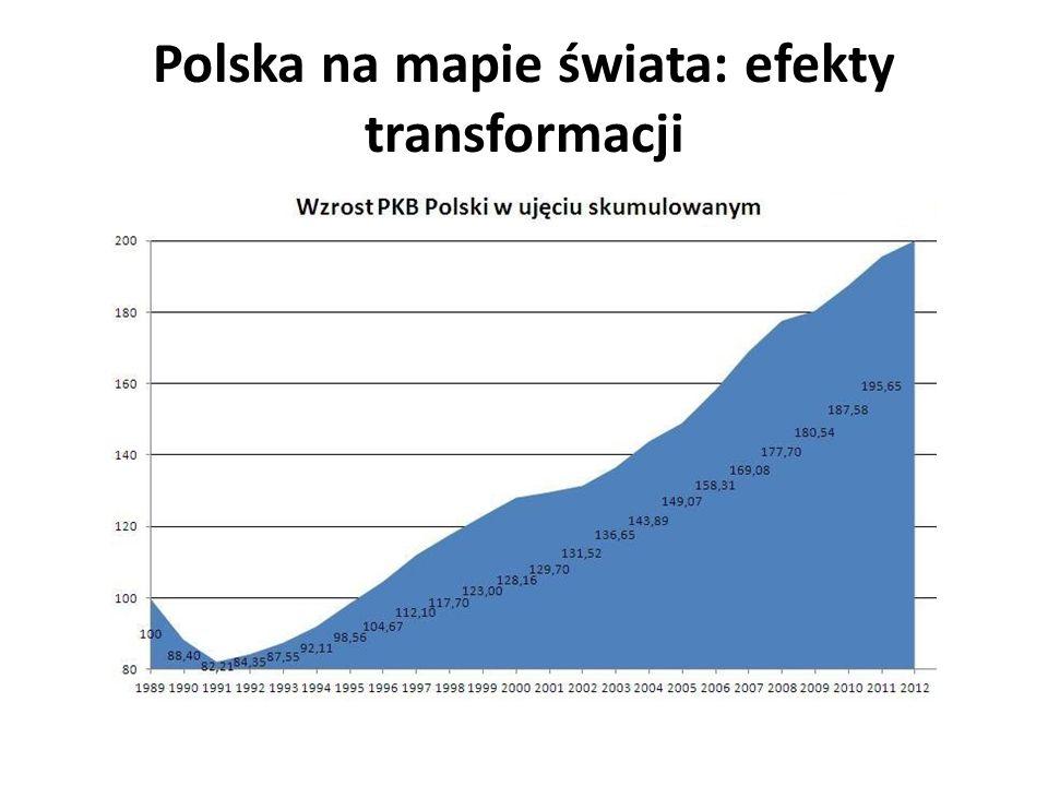 Polska na mapie świata: efekty transformacji 17