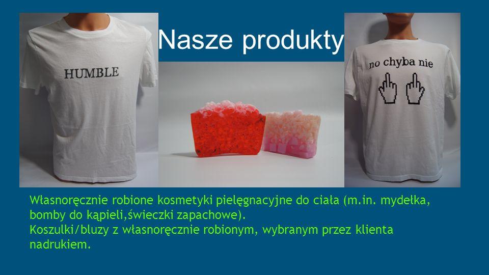 Nasze produkty Własnoręcznie robione kosmetyki pielęgnacyjne do ciała (m.in.