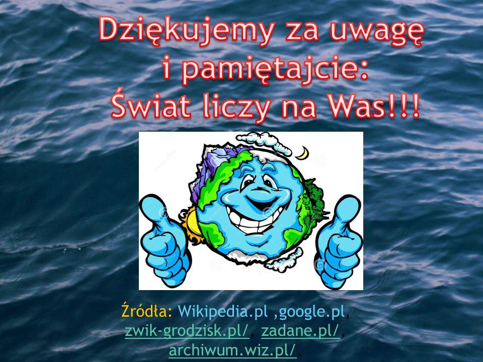 Źródła: Wikipedia.pl,google.pl, zwik-grodzisk.pl/, zadane.pl/, archiwum.wiz.pl/.