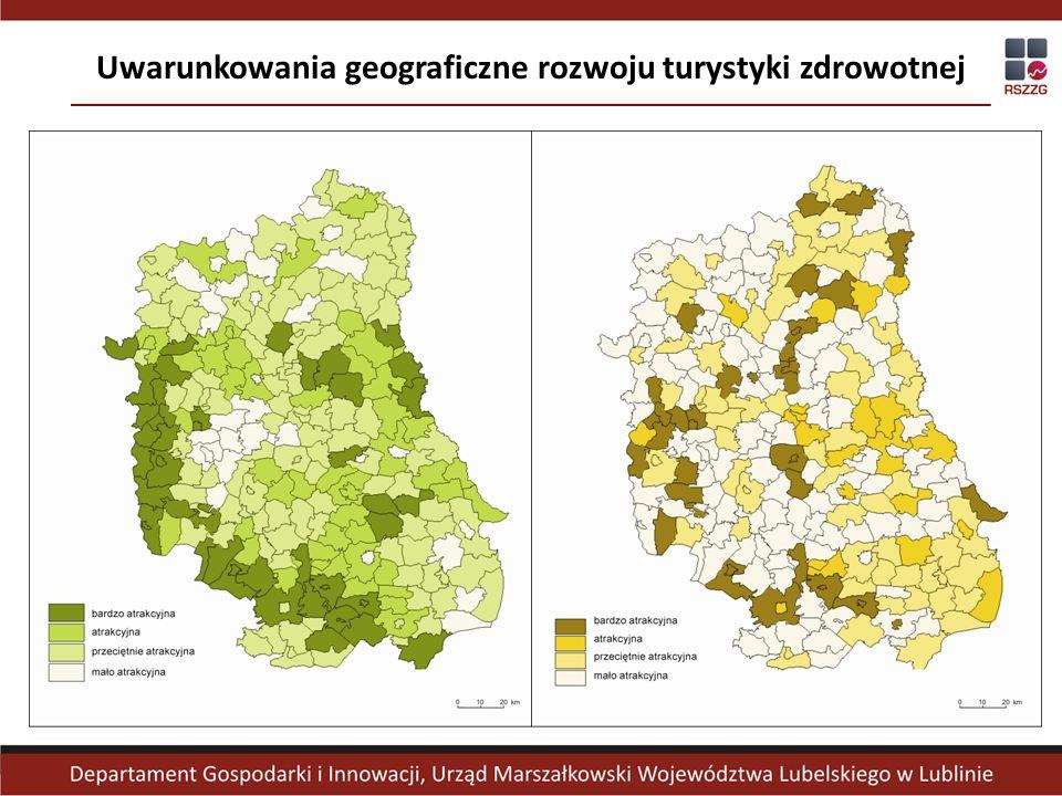 Uwarunkowania geograficzne rozwoju turystyki zdrowotnej