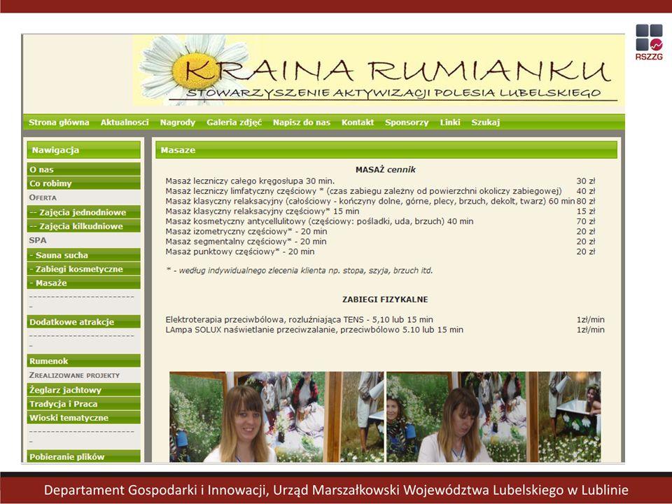Potencjał turystyczny regionu lubelskiego jako wsparcie systemu podaży turystyki zdrowotnej - BIOKLIMAT.