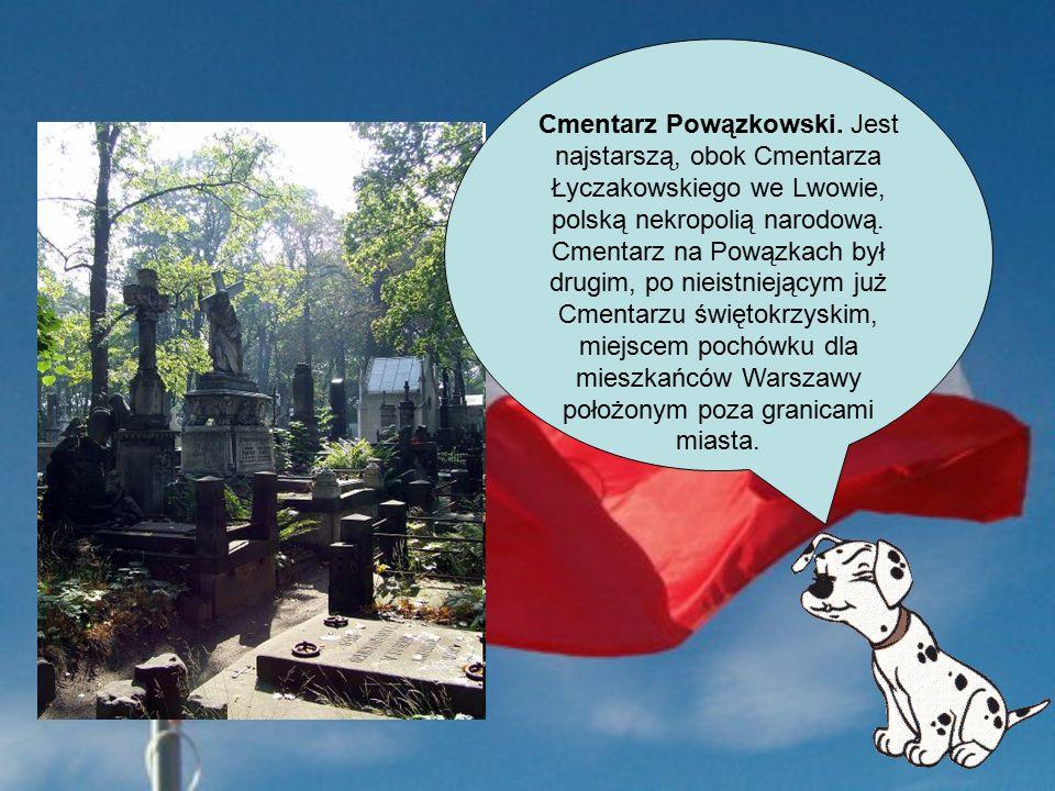 Cmentarz Powązkowski.