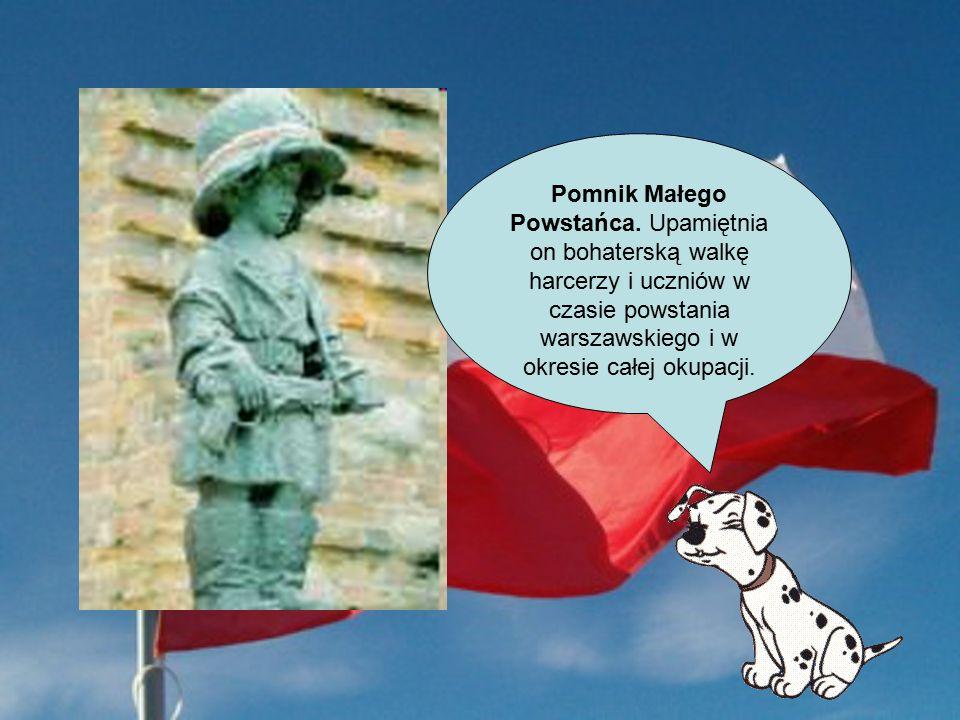 Pomnik Małego Powstańca.