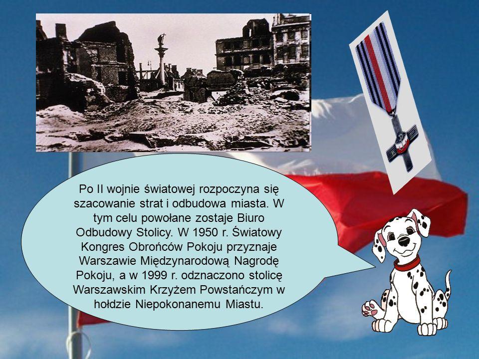 Po II wojnie światowej rozpoczyna się szacowanie strat i odbudowa miasta.