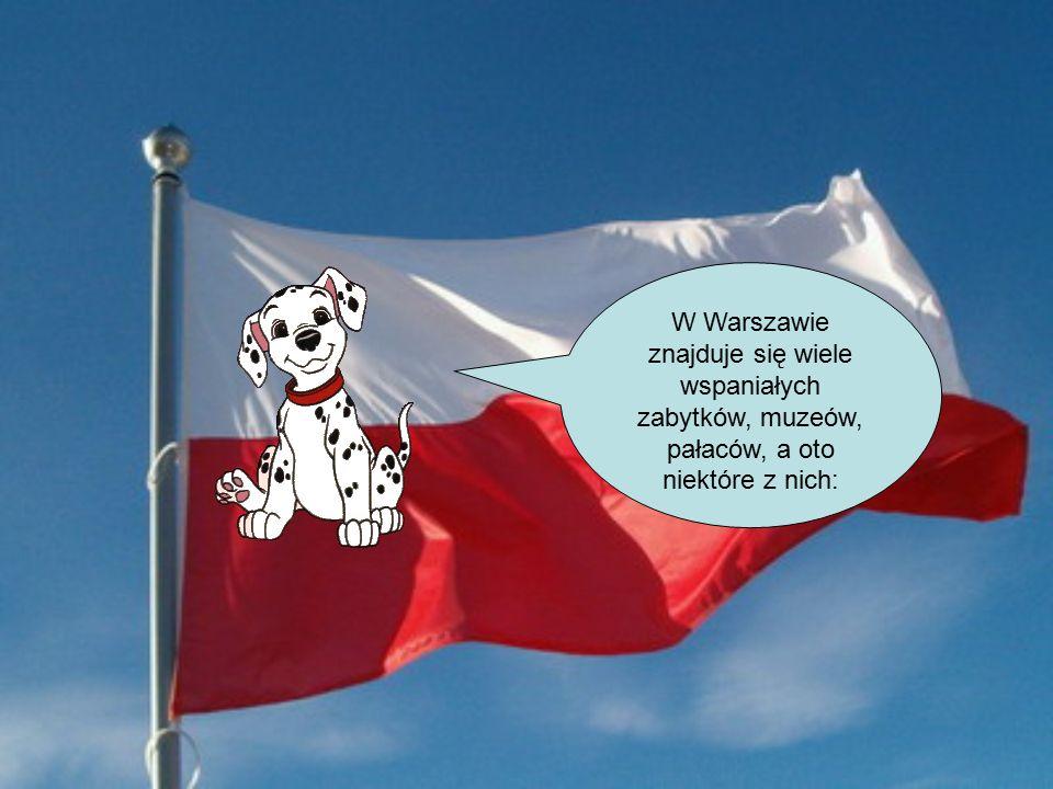 W Warszawie znajduje się wiele wspaniałych zabytków, muzeów, pałaców, a oto niektóre z nich: