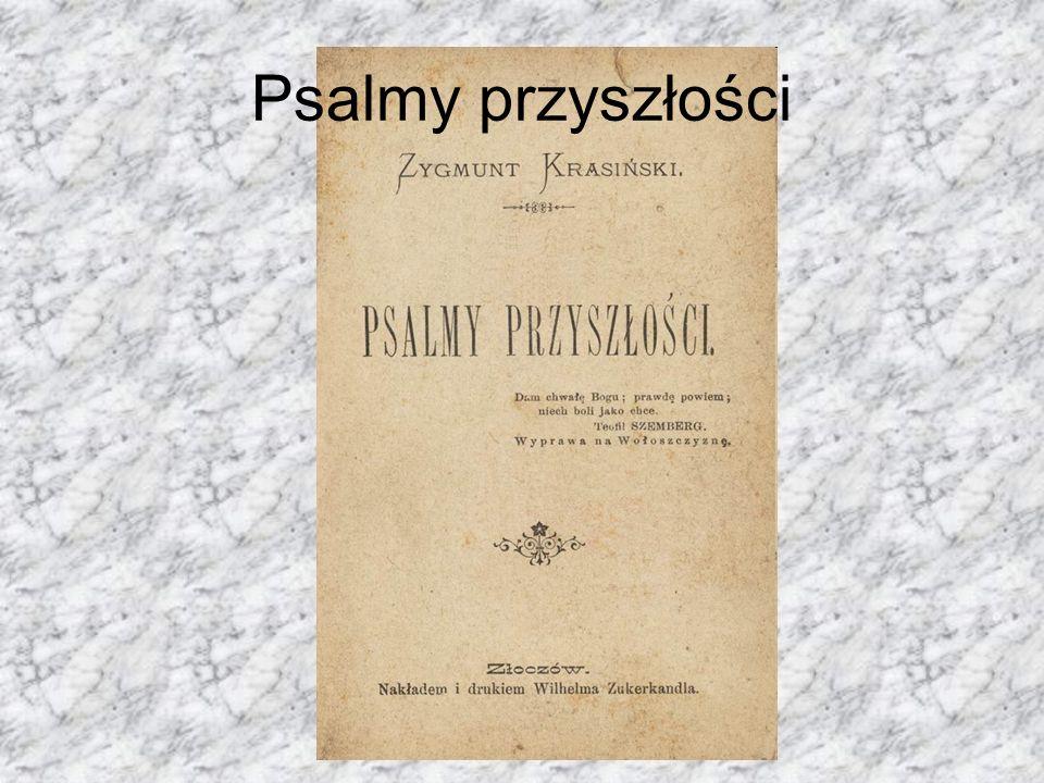 Śmierć Zygmunt Krasiński zmarł 23 lutego 1859 roku w Paryżu.