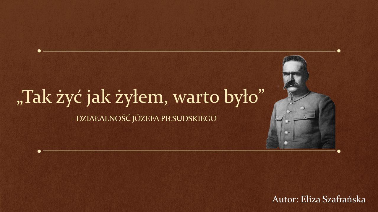 """Drugi rząd Piłsudskiego Marszałek kontynuował krytykę parlamentu na łamach """"Gazety Polskiej ."""