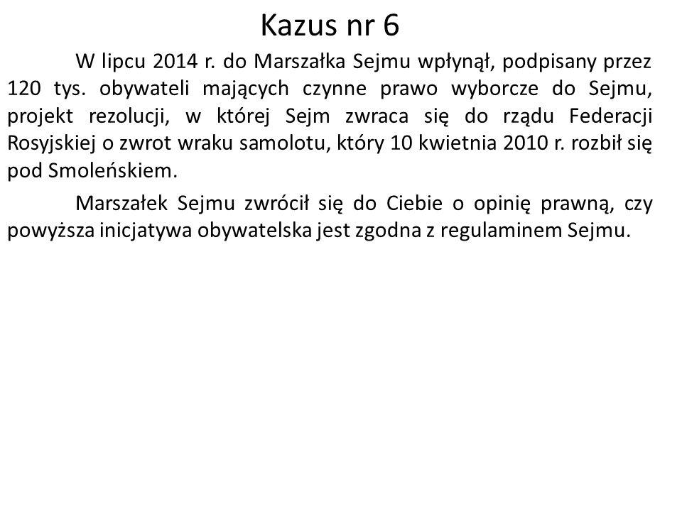 W lipcu 2014 r. do Marszałka Sejmu wpłynął, podpisany przez 120 tys.