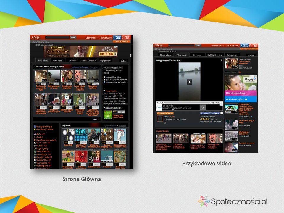Strona Główna Przykładowe video