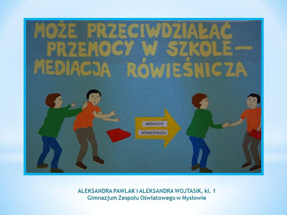 ALEKSANDRA SALAK kl. 1 Gimnazjum w Wojcieszkowie