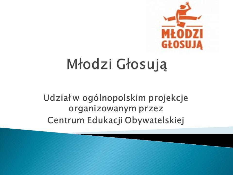 Udział w ogólnopolskim projekcje organizowanym przez Centrum Edukacji Obywatelskiej