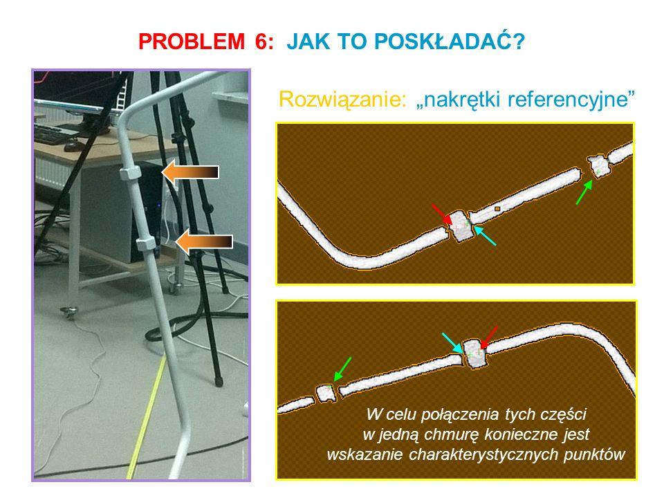 PROBLEM 7: CO ZROBIĆ Z CHMURĄ PUNKTÓW.