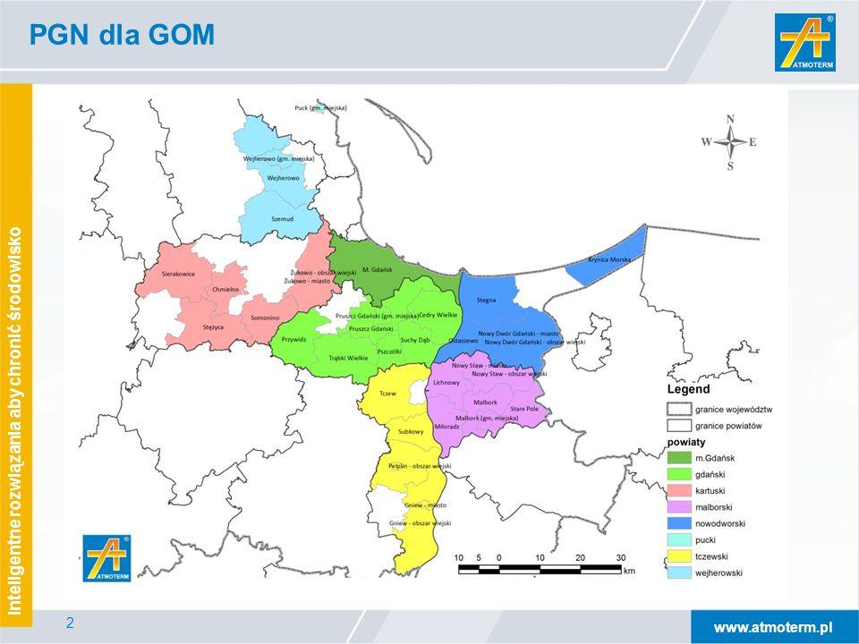 www.atmoterm.pl Inteligentne rozwiązania aby chronić środowisko 2 PGN dla GOM