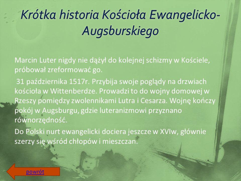 Pierwsze wzmianki o ewangelikach w okolicy Częstochowy pochodzą z końca XVIII wieku.