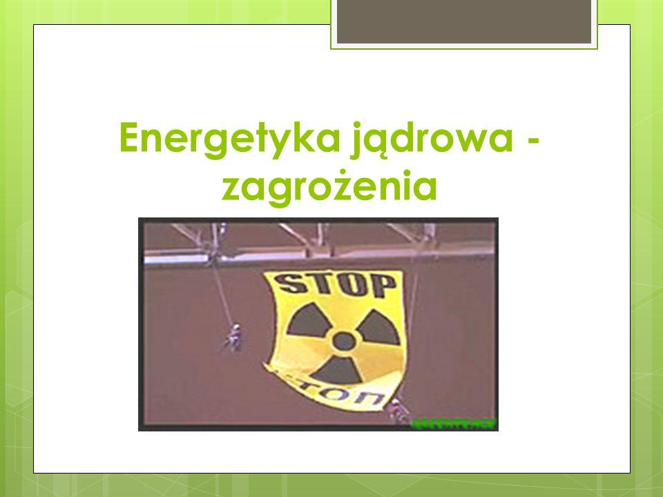 Energetyka jądrowa - zagrożenia