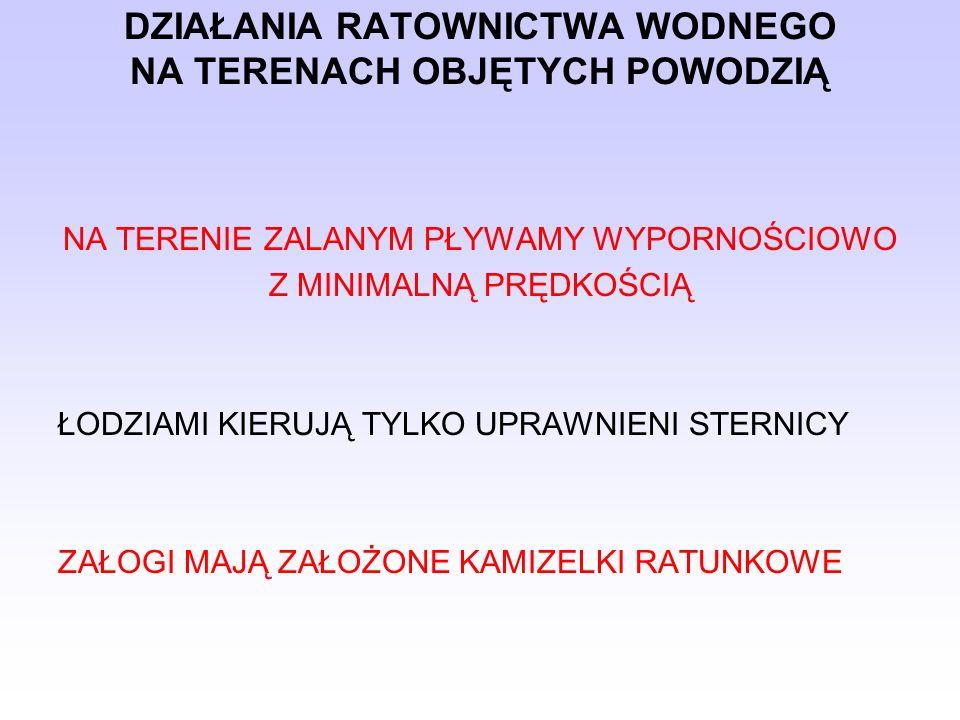DZIAŁANIA RATOWNICTWA WODNEGO NA TERENACH OBJĘTYCH POWODZIĄ 250-Ł7 - Amfibia Gąsienicowa - SGSP Warszawa.