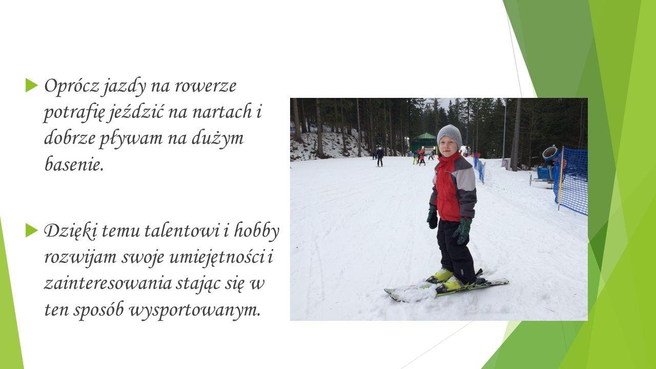 Antoni Wystup  Mam na imię Antek.Uwielbiam uprawiać sport.
