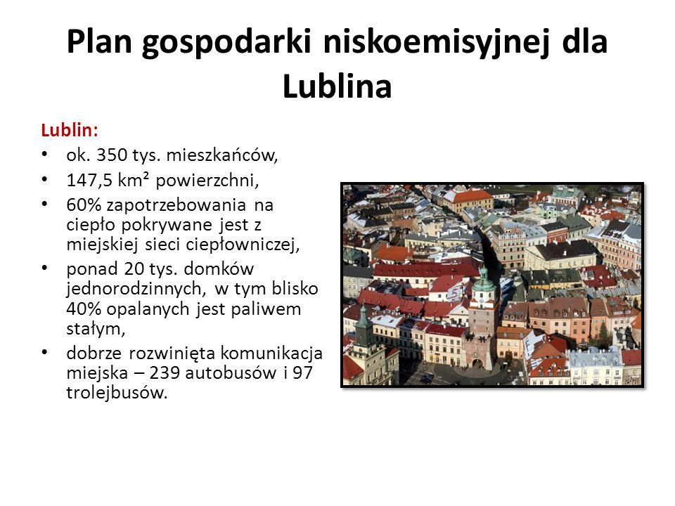 Plan gospodarki niskoemisyjnej dla Lublina Lublin: ok.