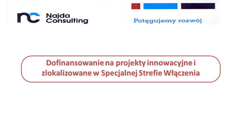 Dofinansowanie na projekty innowacyjne i zlokalizowane w Specjalnej Strefie Włączenia