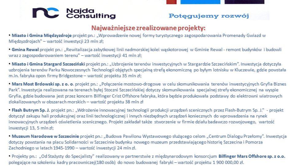 W 2014 roku uruchomiliśmy pierwszy w Polsce portal internetowy www.nowedotacjeunijne.eu przedstawiający nowe fundusze unijne na lata 2014-2020.