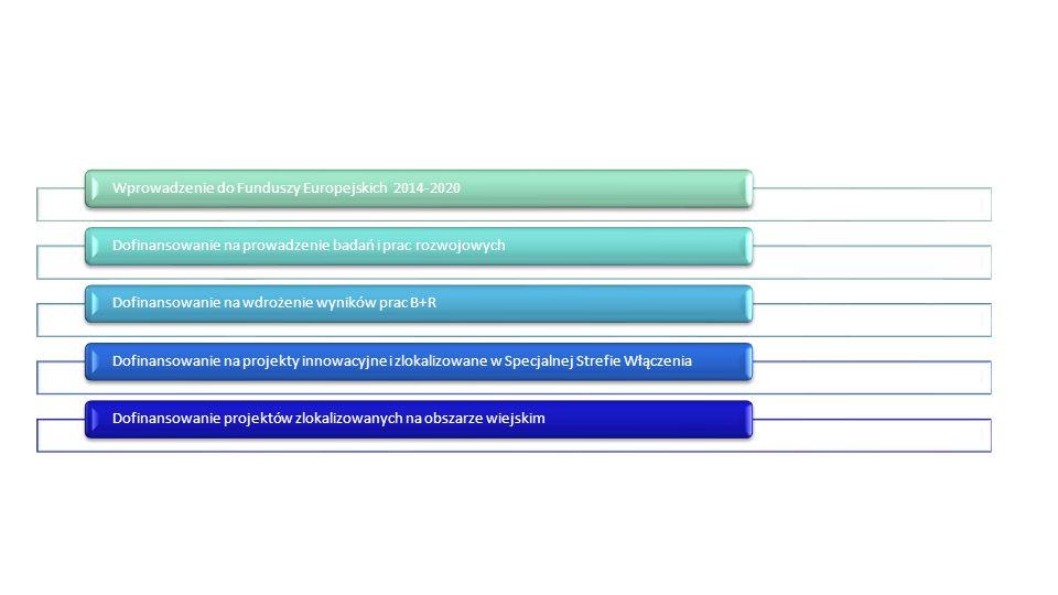 REGIONALNY PROGRAM OPERACYJNY WOJEWÓDZTWA ZACHODNIOPOMORSKIEGO 1.1 Projekty badawczo–rozwojowe przedsiębiorstw Typy projektów Typy projektów Typ 1 :Projekty inicjujące współpracę przedsiębiorstw z jednostkami naukowymi Typ 2 : Projekty badawczo – rozwojowe przedsiębiorstw wraz z przygotowaniem do wdrożenia w działalności gospodarczej Typy wnioskodawcy Typy wnioskodawcy mikro, małe, średnie i duże przedsiębiorstwa; Alokacja na działanie Alokacja na działanie 29 500 000 EUR Limity i ograniczenia w realizacji projektów Typ projektu 1 – jedno przedsiębiorstwo może zrealizować jeden lub kilka bonów z zastrzeżeniem, iż łącznie jedno przedsiębiorstwo może otrzymać na realizację tego typu projektów maksymalnie 50 000 PLN dofinansowania Typ projektu 2 – maksymalna wartość wydatków kwalifikowalnych projektu w ramach 2 typu projektów: 5 000 000 PLN Termin naboru: Typ projektu 1 - Grudzień 2015, typ projektu 2 – 2016 Poziom dofinansowania : Typ projektu 1 – 85% Typ projektu 2: Poziom dofinansowania przedstawiony w tabeli