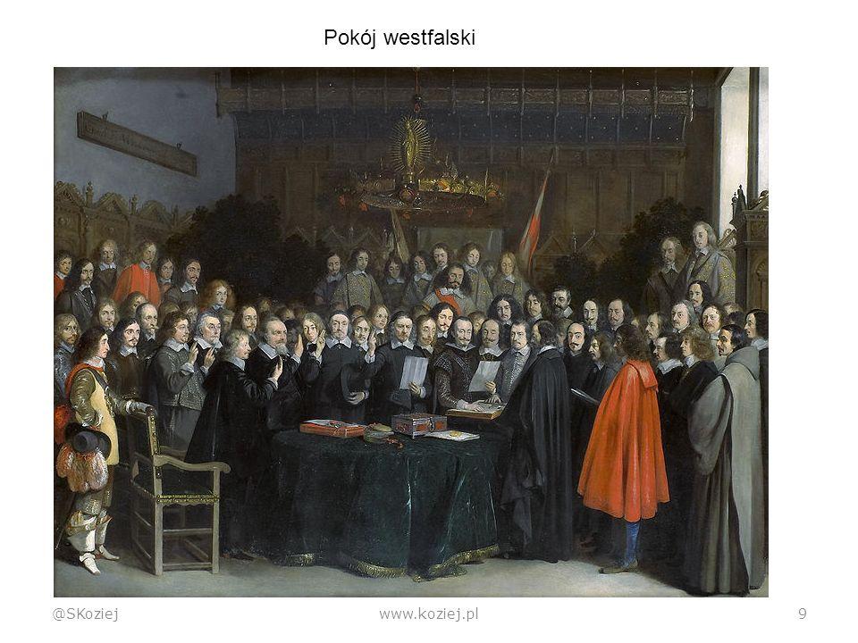 Ład wersalski @SKoziejwww.koziej.pl20  Pojawia się Liga Narodów  Koncepcja bez realizacji  W zamyśle: skorygowany system westfalski; w praktyce – anarchia strategiczna Nieudany koncept LN