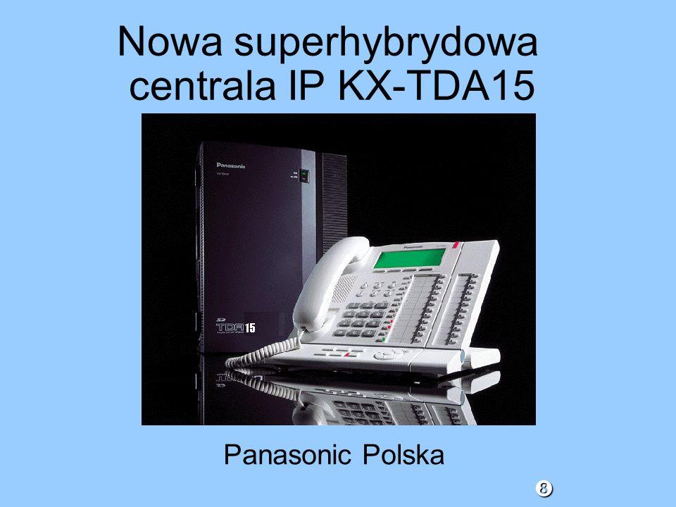 Nowa superhybrydowa centrala IP KX-TDA15 Panasonic Polska