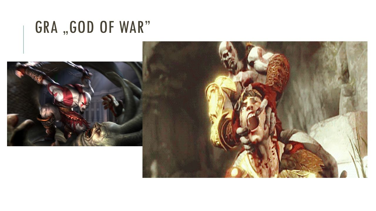 "GRA ""GOD OF WAR"""