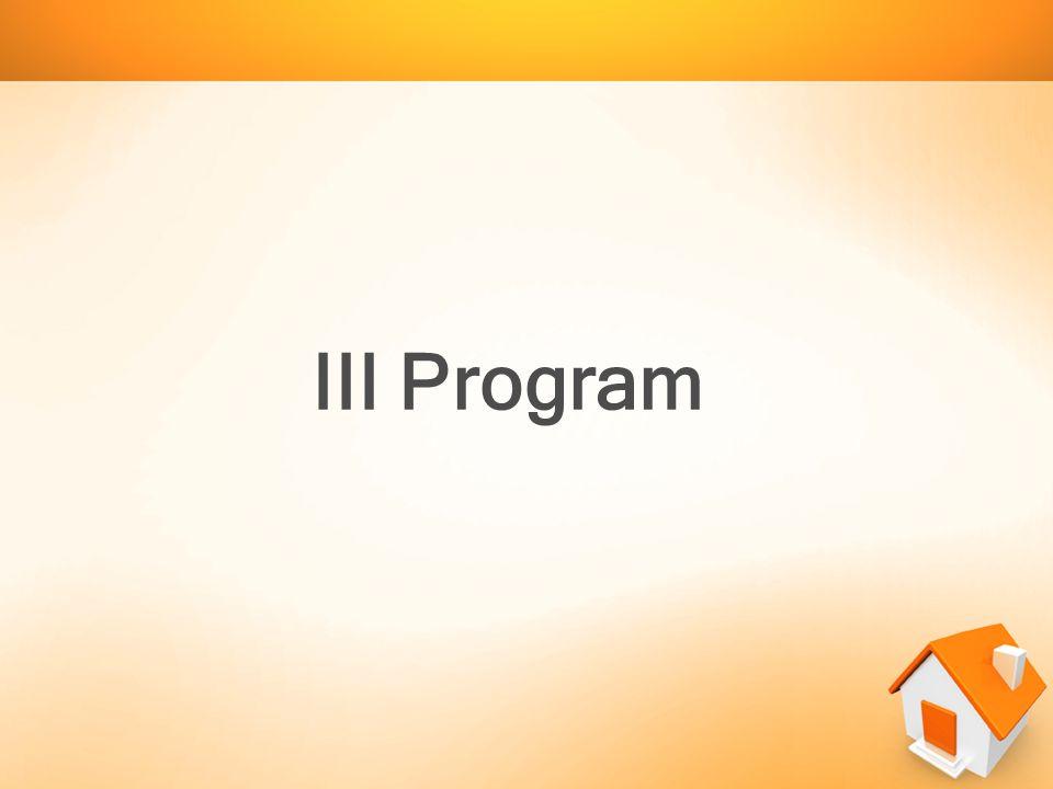 III Program
