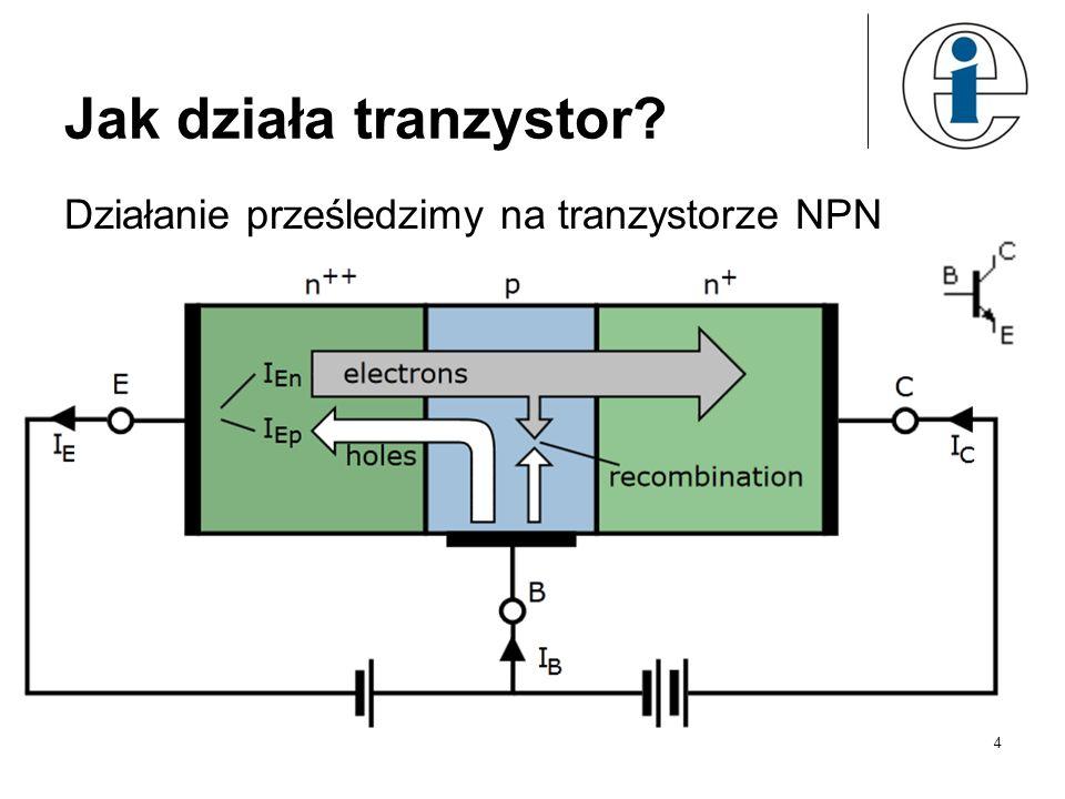 Jak działa tranzystor? Działanie prześledzimy na tranzystorze NPN 4