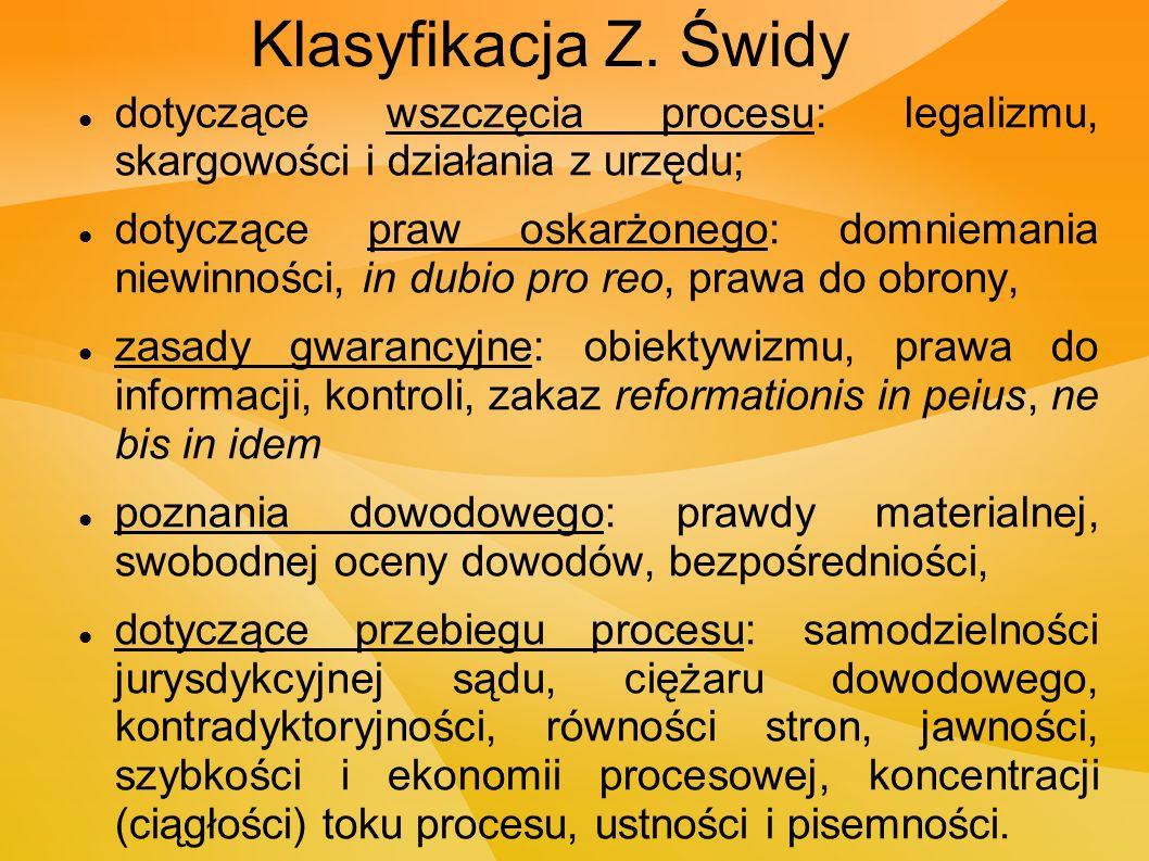 Klasyfikacja Z.