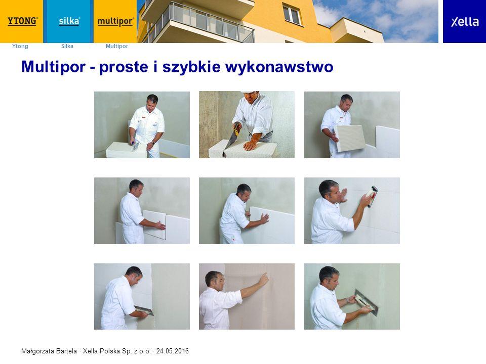 SilkaYtong Multipor 19 Multipor – ocieplenie ścian - obiekty referencyjne Małgorzata Bartela · Xella Polska Sp.