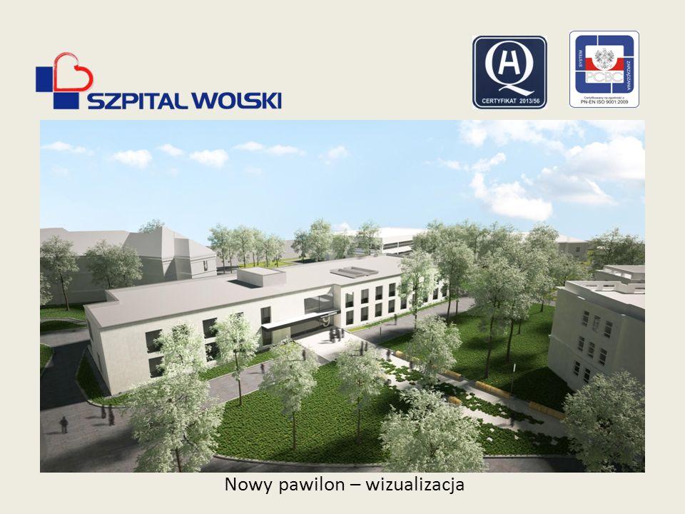 Nowy pawilon – wizualizacja