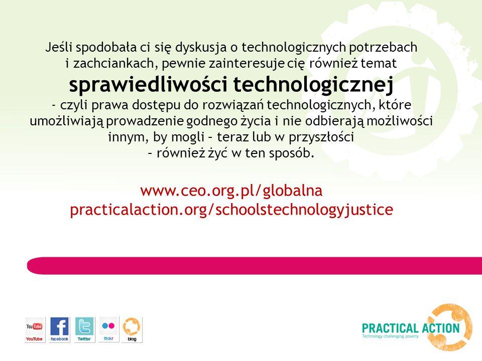 Jeśli spodobała ci się dyskusja o technologicznych potrzebach i zachciankach, pewnie zainteresuje cię również temat sprawiedliwości technologicznej -