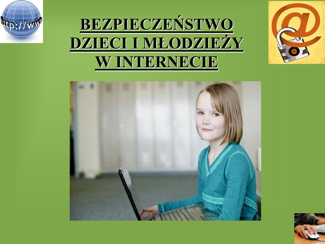 INTERNET Internet (łac.inter - między + ang.