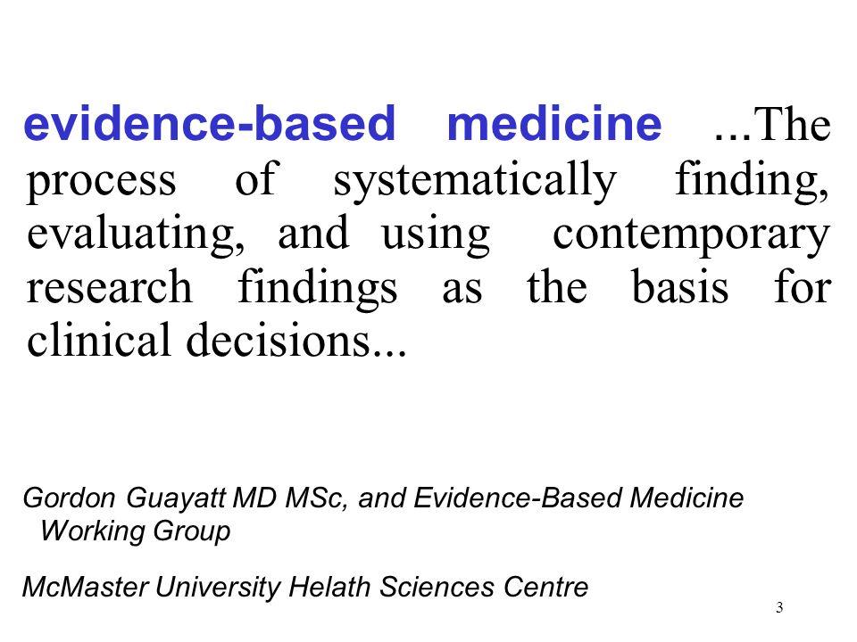 3 evidence-based medicine...