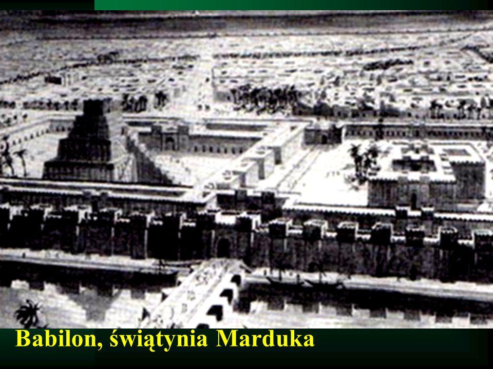 Babilon, świątynia Marduka