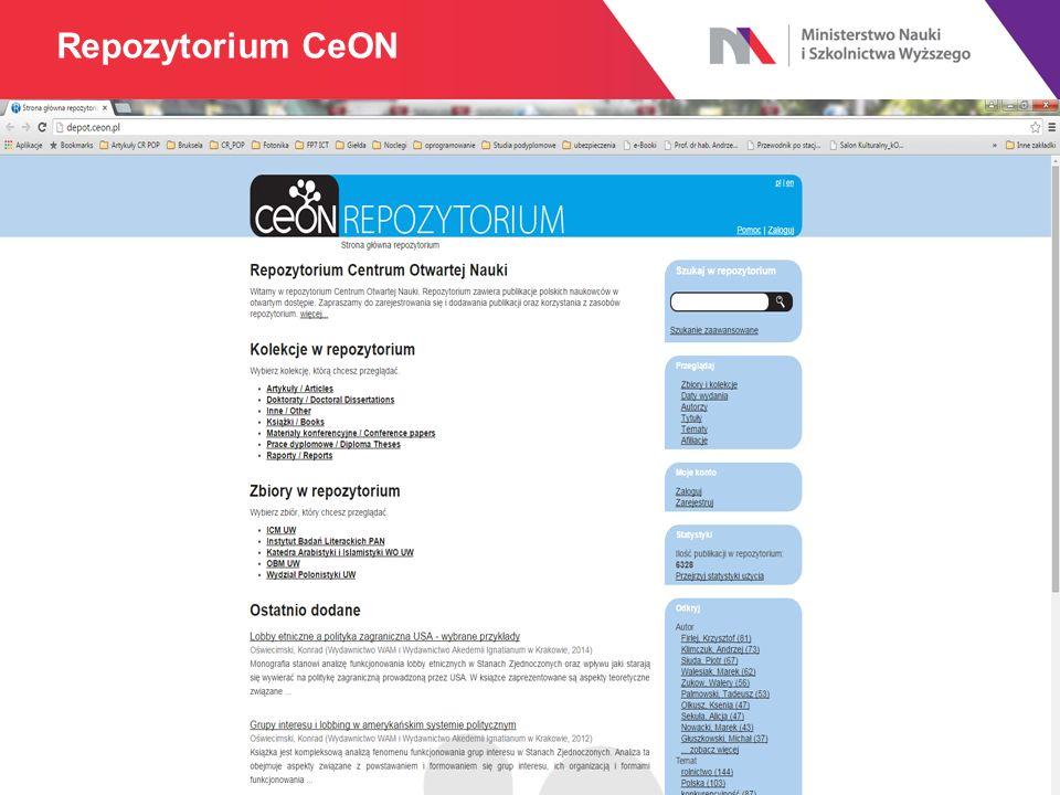 Repozytorium CeON